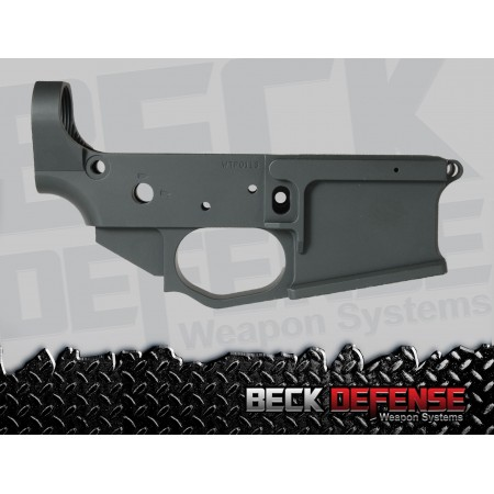 BECK DEFENSE STRIPPED LOWER RECEIVER----BILLET----