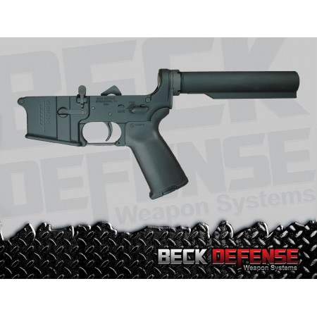 BECK DEFENSE COMPLETE LOWER RECEIVER----FORGED----WITHOUT STOCK
