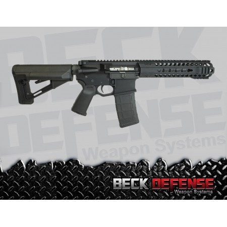 "BECK DEFENSE M4-C 5.56mm RIFLE---BILLET---7.5"" BARREL"