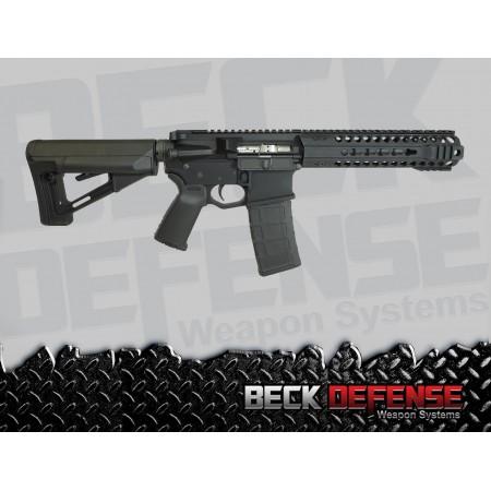 "BECK DEFENSE M4-C 5.56mm RIFLE---BILLET---7.5"" BARREL"