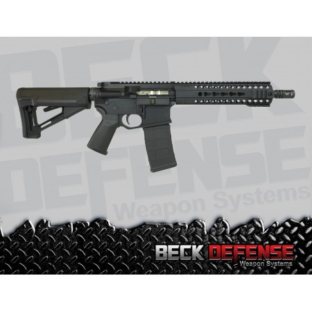 "BECK DEFENSE M4-C 5.56mm RIFLE---BILLET---10.5"" BARREL"