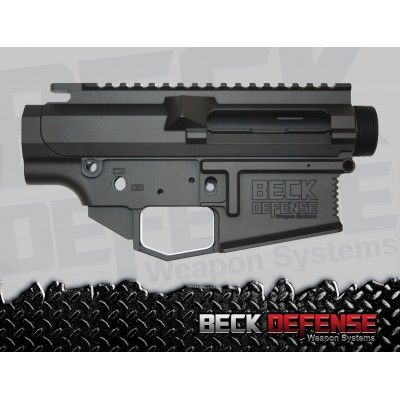 beck defense stripped upper/lower receiver set ---billet--- 308