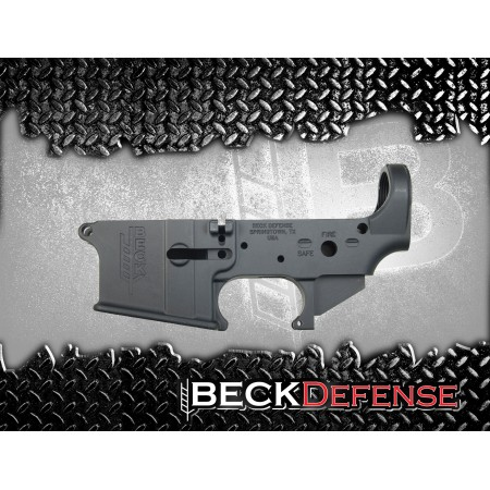 BECK DEFENSE STRIPPED LOWER RECEIVER----FORGED----