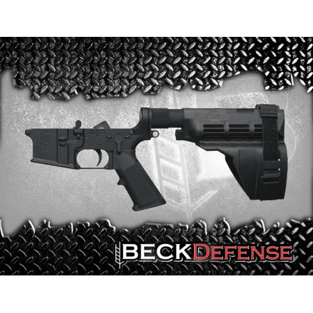 BECK DEFENSE COMPLETE LOWER RECEIVER----FORGED----PISTOL