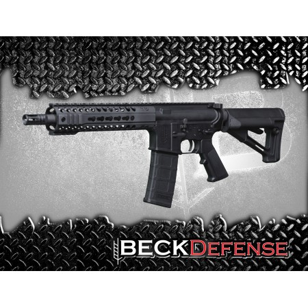 "BECK DEFENSE M4-BD 5.56mm RIFLE---FORGED---10.5"" BARREL"